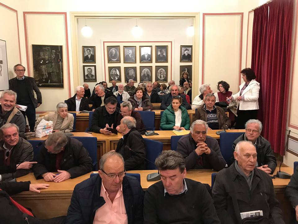 "Tζαμουράνης: Παρουσίασε 30 υποψήφιους του συνδυασμού του ""Δήμος Πρότυπο"""