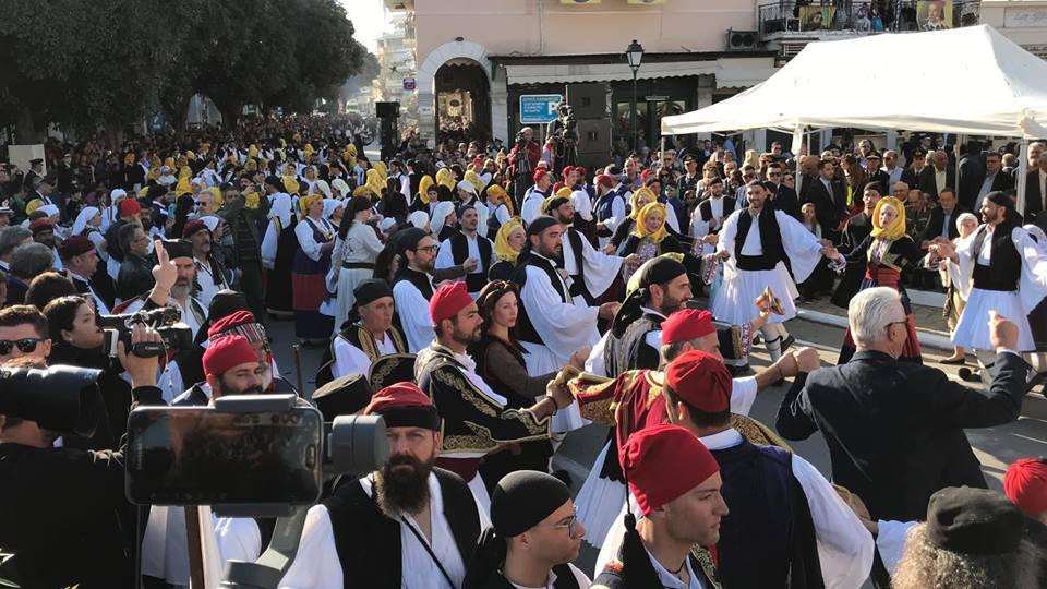 Η παρέλαση μετά την Αναπαράσταση