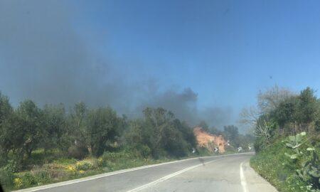 Πυρκαγιά στην Ανάληψη