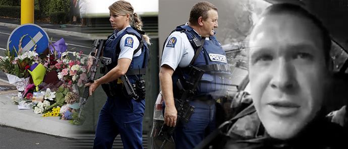 """Είχε """"οργώσει"""" την Ελλάδα ο άνδρας που αιματοκύλησε την Νέα Ζηλανδία"""