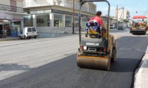 Διακοπή κυκλοφορίας αύριο από Καρέλια μέχρι κόμβο Ζαφείρη λόγω ασφαλτοστρώσεων