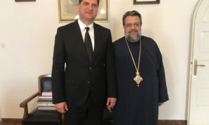 Στον μητροπολίτη Μεσσηνίας ο Γιώργος Αθανασόπουλος