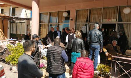Περιοδεία σε Πλατύ, Αρφαρά, Άγ.Φλώρο και Πήδημα ο Βασιλόπουλος