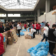 Διανομή τροφίμων ΤΕΒΑ στην Κεντρική Αγορά Καλαμάτας