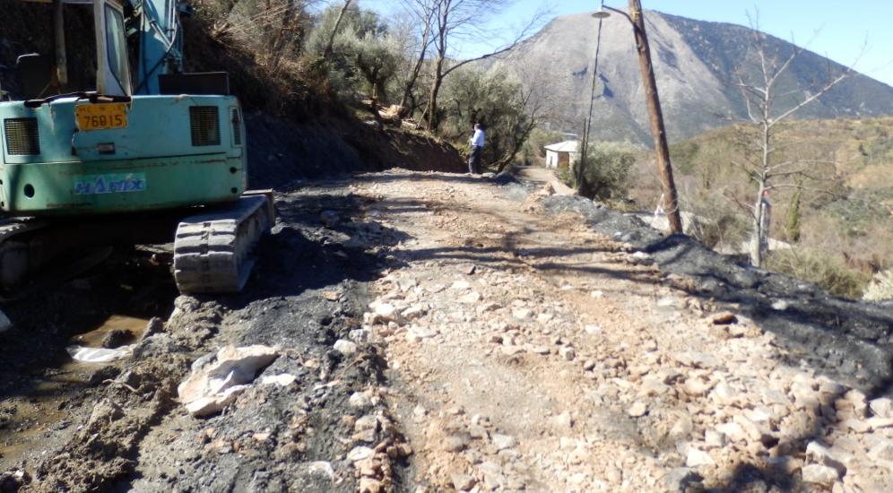 Συνεχίζονται οι εργολαβίες στα χωριά της Αλαγονίας