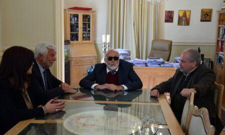 Θεσμική επίσκεψη του Παναγιώτη Κουρουμπλή στον Περιφερειάρχη Πελοποννήσου