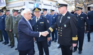 Παυλόπουλος: Εχουμε τη βούληση και τα μέσα να διασφαλίσουμε την κυριαρχία μας