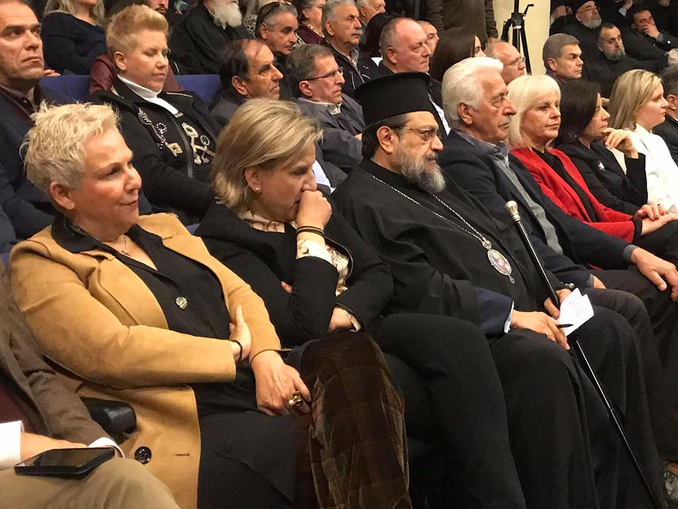 Πλήθος κόσμου στην ημερίδα της Μητρόπολης για τις σχέσεις Εκκλησίας-Πολιτείας
