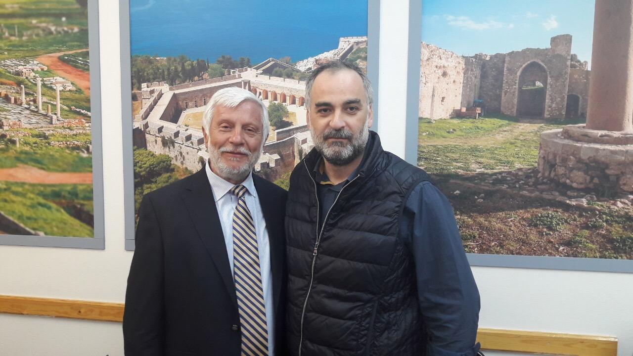 """Υποψήφιος με τη """"Νέα Πελοπόννησο"""" ο Γιάννης Φραγγέας στη Μεσσηνία"""