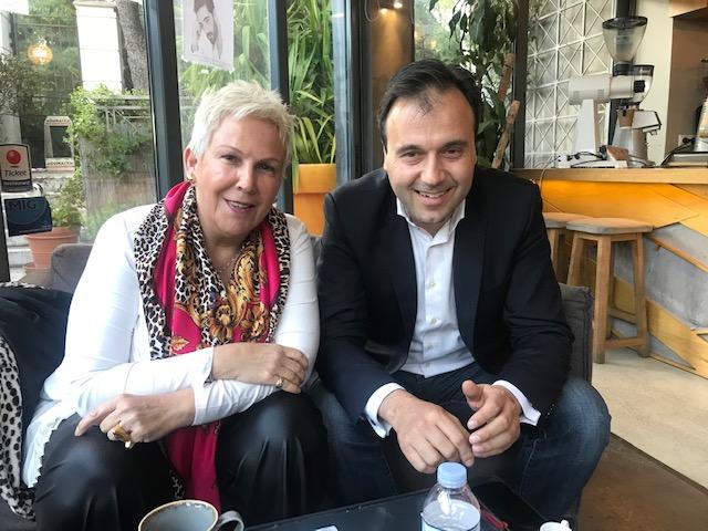 Συνάντηση της Μαρίας Οικονομάκου με τον Δήμαρχο Τρικκαίων