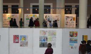 """""""Καλαμάτα 1821"""": Εγκαινιάστηκε η Εικαστική Έκθεση Παιδικής Ζωγραφικής"""
