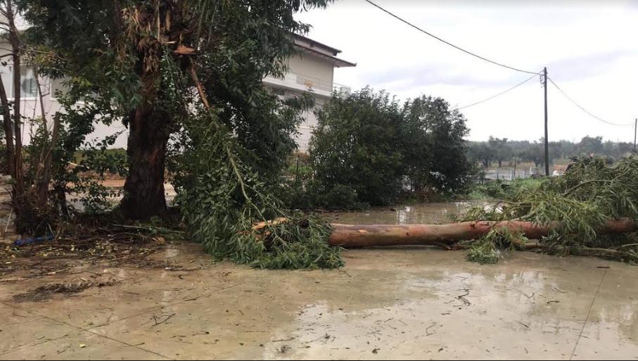 Διευκρινίσεις από την Πολιτική Προστασία της Περιφέρειας Πελοποννήσου