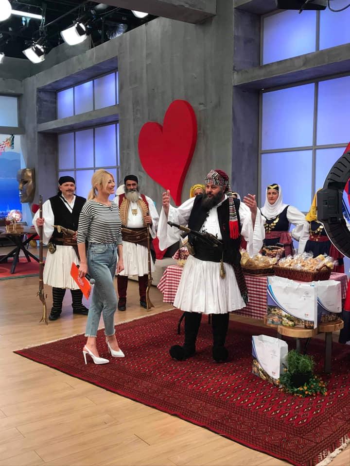 Η Καλαμάτα στην εκπομπή «Το Πρωινό» με τη Φαίη Σκορδά