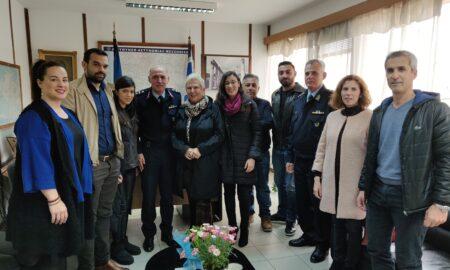 Καλαμάτα Ξεκινάμε: Επίσκεψη στην Αστυνομική Διεύθυνση Μεσσηνίας