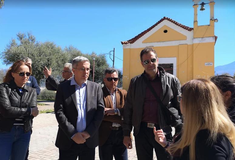 Ανοιχτός Δήμος: Επίσκεψη στη Ράχη-Τα προβλήματα παραμένουν