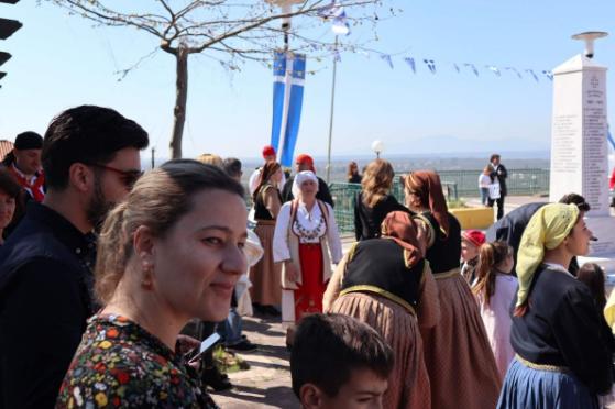 Καλαμάτα Τόπος Ζωής: Στα Αρφαρά τίμησαν την 25η Μαρτίου