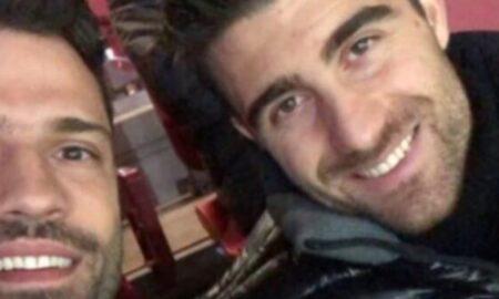 Κωνσταντίνος Αργυρός: Στις κερκίδες του Emirates με τον Παπασταθόπουλο