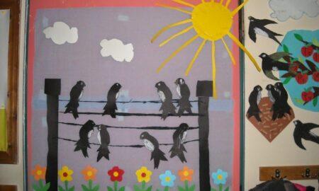 Τα Παιδικά χωριά SOS και τα παιδιά από τα Λαίϊκα υποδέχονται την Άνοιξη