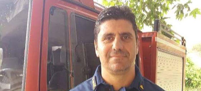 Νεκρός εν ώρα καθήκοντος ο πρόεδρος Πυροσβεστών Κεντρικής Μακεδονίας