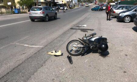 Τροχαίο ατύχημα με δύο τραυματίες στην Αθηνών