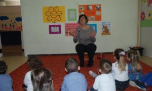 Εκδήλωση για το βιβλίο στον Α' Δημοτικό Παιδικό Σταθμό Μεσσήνης