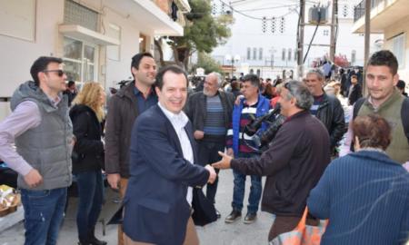 Στη Λαϊκή Αγορά του Συνοικισμού Κορίνθου ο Γιώργος Δέδες