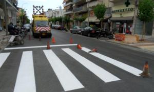 Ξεκινούν την Κυριακή οι διαγραμμίσεις σε δρόμους της Καλαμάτας