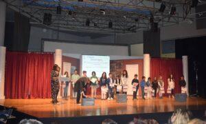 """Βραβεύσεις 8ου Πανελλήνιου Μαθητικού Διαγωνισμού Λογοτεχνίας """"Σοφία Φίλντιση"""""""