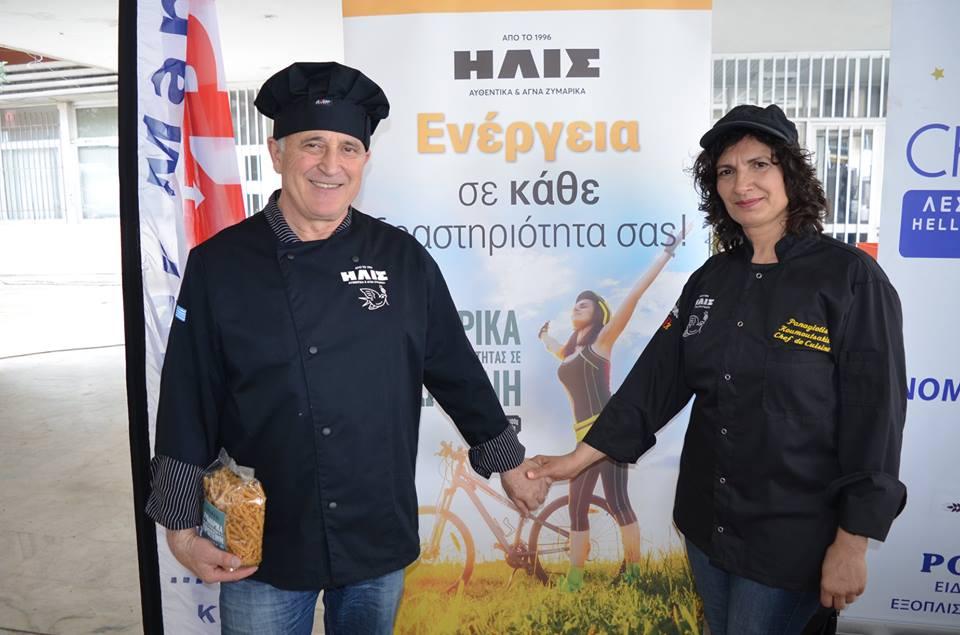"ALTE Peloponnese: Μακαρονάδα για αθλητές και όχι μόνο με τη σφραγίδα της ""ΗΛΙΣ"""