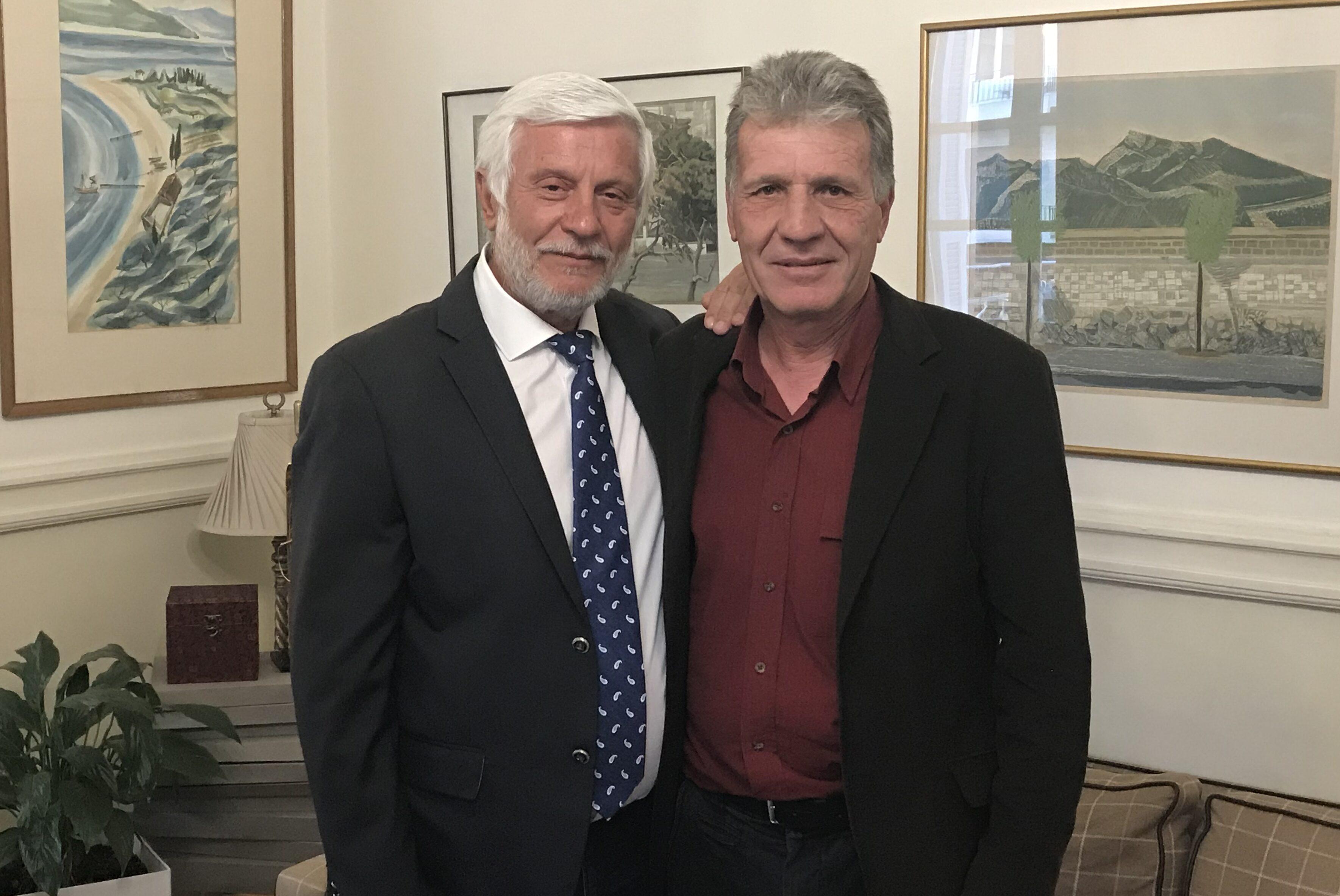 Την υποψηφιότητα του Τάκη Στασινού με τη Νέα Πελοπόννησο στη Μεσσηνία ανακοίνωσε ο Τατούλης