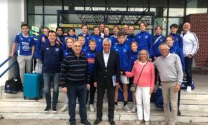 Στην Πύλο ποδοσφαιρική ομάδα εφήβων από τη Σουηδία