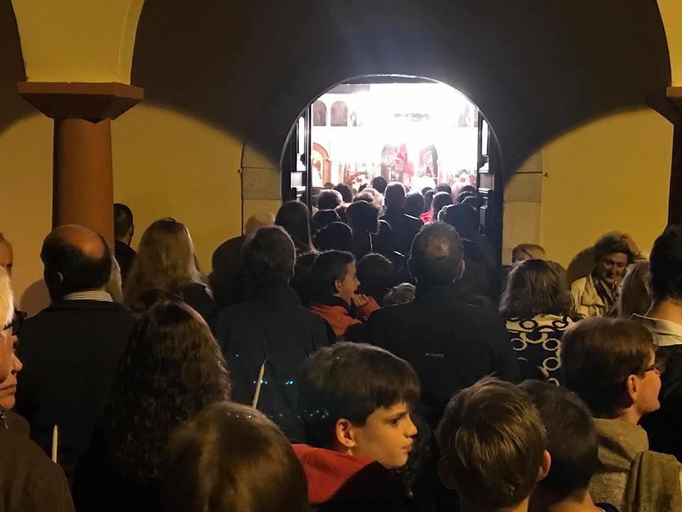 Πλήθος κόσμου γιόρτασε την Ανάσταση στην Καρδαμύλη