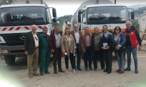 Σε ΔΕΥΑΚ, Συνεργεία του Δήμου και Υπεραστικό ΚΤΕΛ ο Κοσμόπουλος