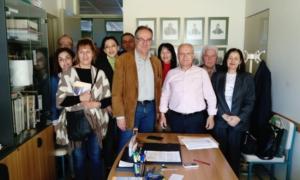 Με φορείς της εκπαιδευτικής κοινότητας συναντήθηκε ο Κοσμόπουλος