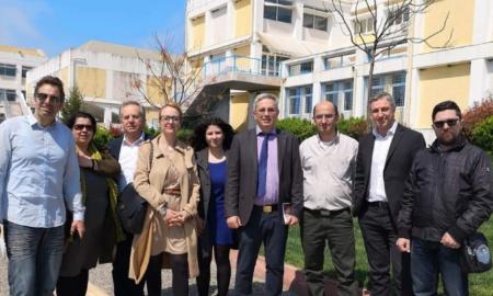 """Επίσκεψη """"Ανοιχτού Δήμου"""" και Μάκαρη στο ΤΕΙ Πελοποννήσου"""