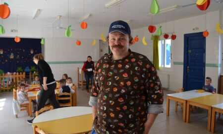 Ένας σεφ της Λέσχης Αρχιμαγείρων στον Δ'Παιδικό Σταθμό Μεσσήνης!