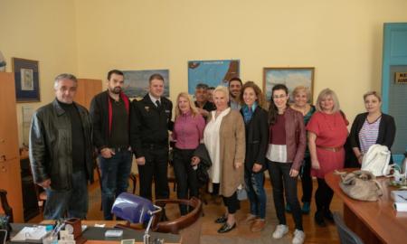 """""""Καλαμάτα Ξεκινάμε"""": Επίσκεψη στο Λιμάνι Καλαμάτας από τον συνδυασμό της Οικονομάκου"""