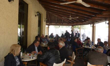 Συνεχίζονται οι περιοδείες Τσώνη στα χωριά του Δήμου Μεσσήνης