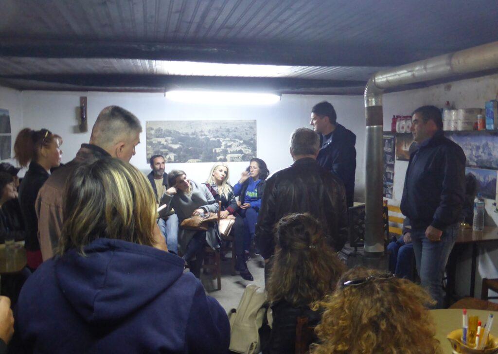 Στα χωριά του Πεταλιδίου συνεχίζει την περιοδεία του ο Αθανασόπουλος