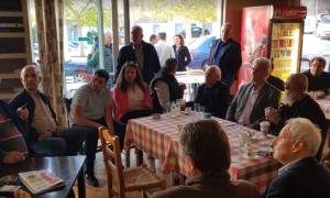 """Περιοδεία Τζαμουράνη και """"Πρότυπου Δήμου"""" σε χωριά του Δήμου Καλαμάτας"""