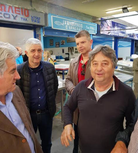 """Στην Κεντρική Αγορά Καλαμάτας Τζαμουράνης και """"Πρότυπος Δήμος"""""""