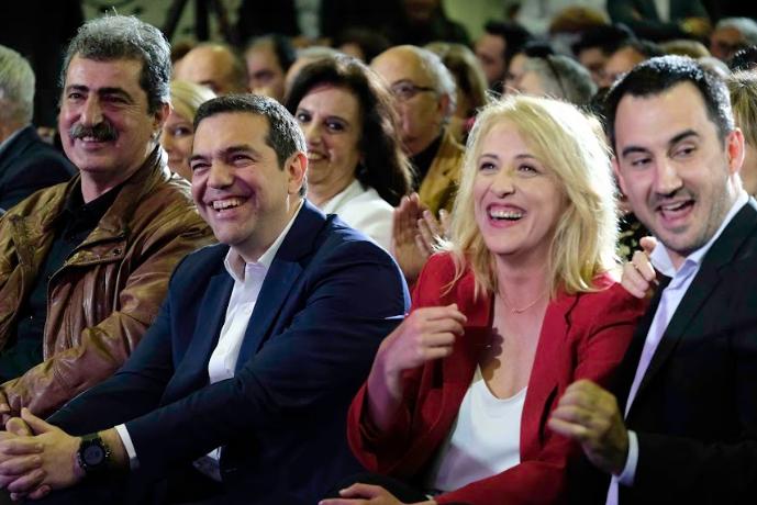 """Χαρίτσης: """"Η Ελλάδα δεν μπορεί να γυρίσει πίσω-Ο λαός θα δικαιώσει την προσπάθειά μας"""""""