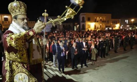 Υπαπαντή: Πλήθος κόσμου στην Ανάσταση παρουσία του Προέδρου της Δημοκρατίας