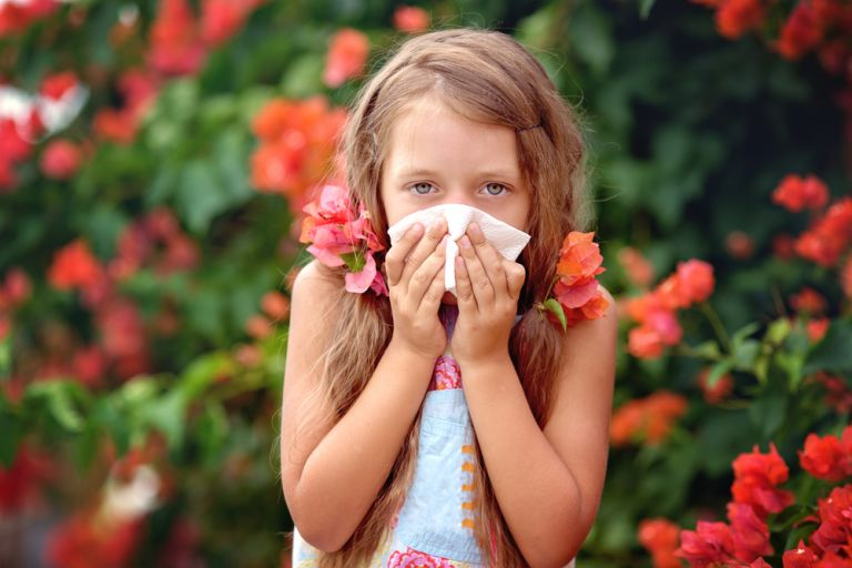 Παιδικές αλλεργίες της Άνοιξης