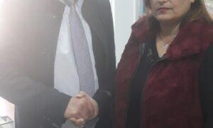 """""""Νέα Πελοπόννησος"""": Η Μαρία Σταυροπούλου με τον Πέτρο Τατούλη"""