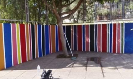 14ο Δημοτικό Καλαμάτας: Γονείς και παιδιά ζωγράφισαν το σχολείο τους!
