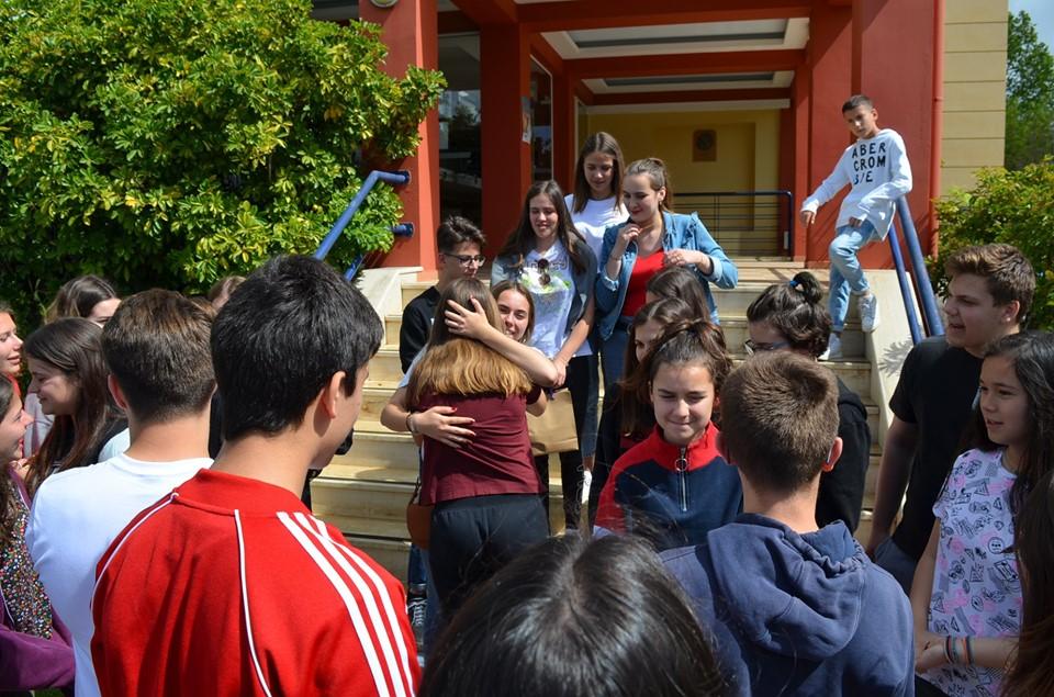 Eκπ.Μπουγά: Φιλοξένησαν 18 Γάλλους μαθητές στην Καλαμάτα μέσω του eTwinning