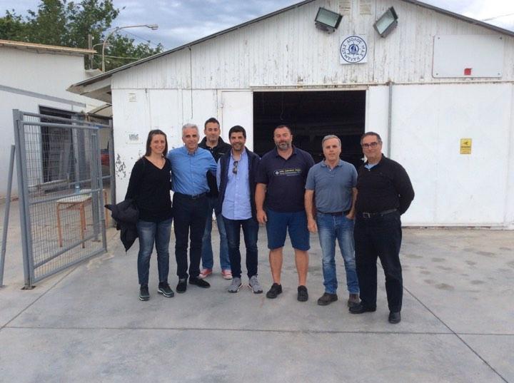 ΝΑΣΚ Αίολος: Επίσκεψη Πολύμερου με επίκεντρο την κωπηλασία