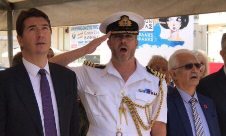 Επέτειος Μάχης της Καλαμάτας: Βρετανός Ακόλουθος Άμυνας ψάλλει τον Εθνικό μας ύμνο!