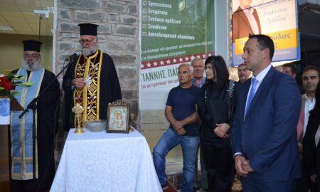 Παπαδόπουλος: Η Οιχαλία αξίζει ένα καλύτερο αύριο κι εμείς μπορούμε να το προσφέρουμε